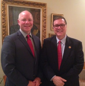 David Grimm and WA State Congressman Denny Heck
