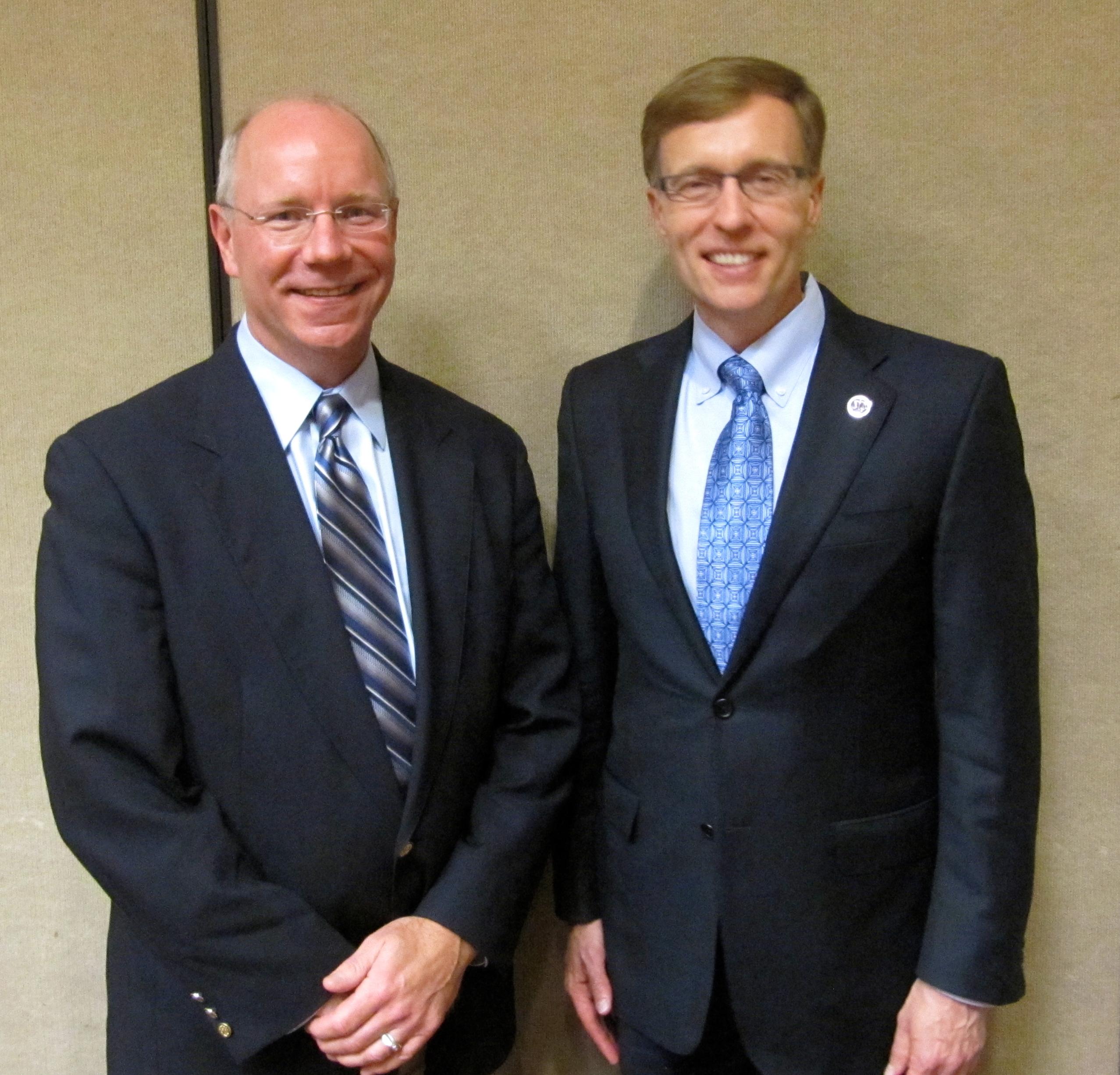 David Grimm and Washington State Attorney General Rob McKenna